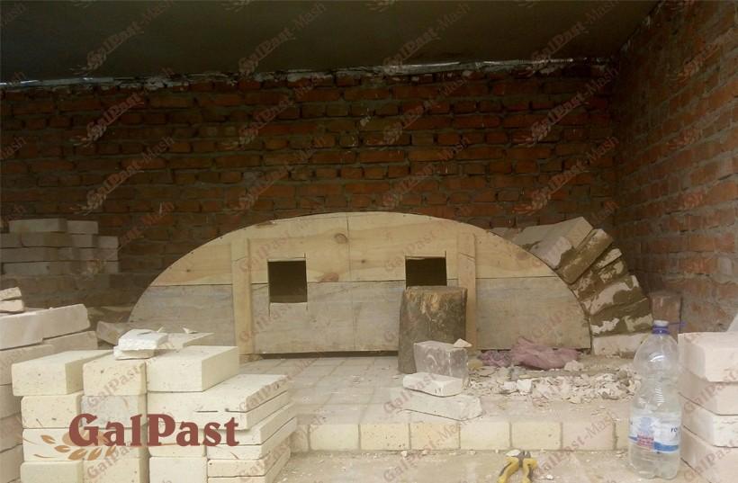 Піч хлібопекарна на дровах, класичного типу П'ЄЦ-ДС. Галпаст-Маш (Україна) - 1