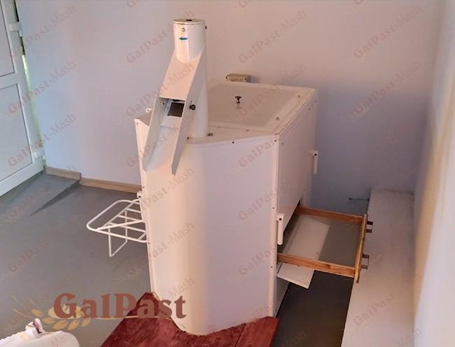 Просіювач борошна ПБ-1000, вібраційний, бункер на 75кг. ГАЛПАСТ-МАШ - 1