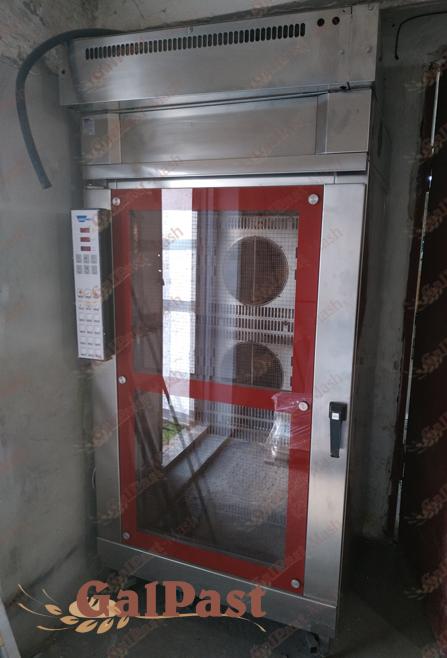 Піч стаціонарна пароконвекційна Вейшеу на 1 вагонетку 15-18 рівнів, електрична, парозволоження, програмне управління. WIESHEU, Німеччина. Б/У - 1