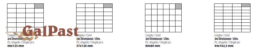 Гідравлічний ділитель тіста, напівавтоматичний, зі змінними рамними-ножами, 150-1000 грам / 20шт. Vitella SQ G SA 20 m (Італія) - 2