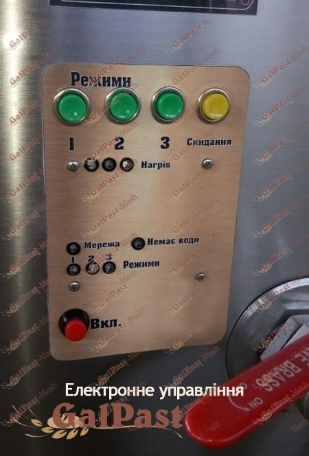 Котел харчоварильний пароводяний, модернізований КХЕ-M-Нерж З мішалкою. Галпаст-Маш (Україна) - 2