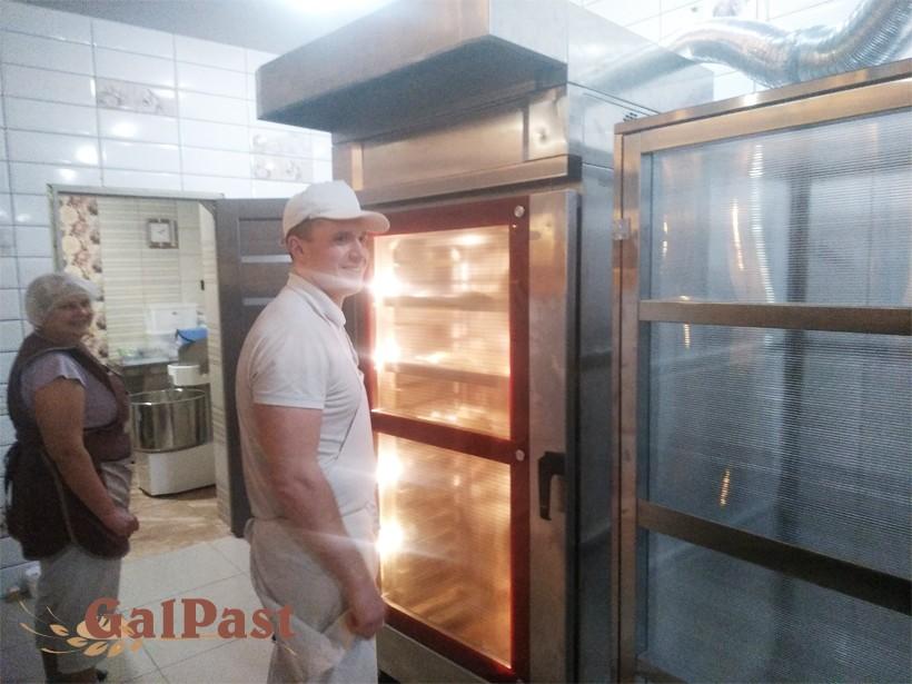 Піч для пекарні, стаціонарна, пароконвекційна Вейшеу на 1 вагонетку 15-18 рівнів, електрична, парозволоження, програмне управління, 2004-2008р. Німеччина. Б/У - 4