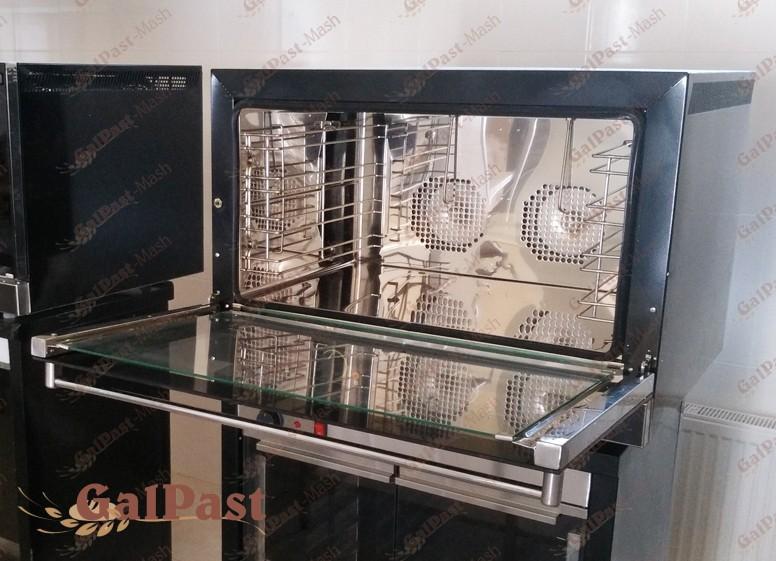 Пароконвекційна піч RUSLANA 64-Pro. На 4 деко, 600х400. Парозволоження. Програмне управління. ГАЛПАСТ-МАШ (Україна) - 1