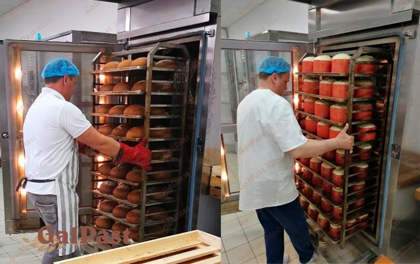Піч для пекарні, стаціонарна, пароконвекційна Вейшеу на 1 вагонетку 15-18 рівнів, електрична, парозволоження, програмне управління, 2004-2008р. Німеччина. Б/У - 6