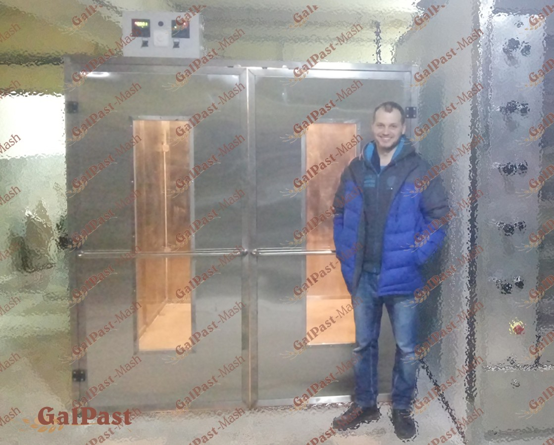 Камера вистійки для вистоювання тіста на 4 вагонетки. Автоматизована. Галпаст-Маш (Україна) - 3