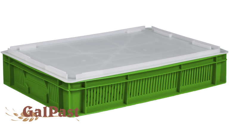 Ящики пластикові для зберігання здоби та кондитерських виробів - 1