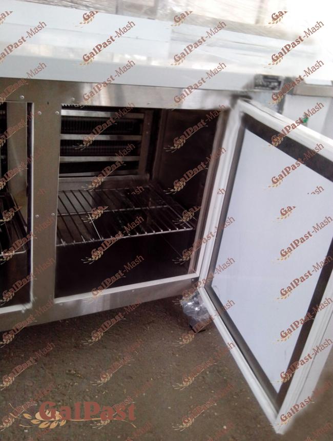 Стіл холодильний 600х(1000-1800). Нерж. Україна - 2