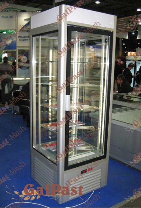 Вітрина холодильна демонстраційна TORINO-К-500C. Об'єм 500л. Охолодження динамічне 0…+8°С. Україна - 1