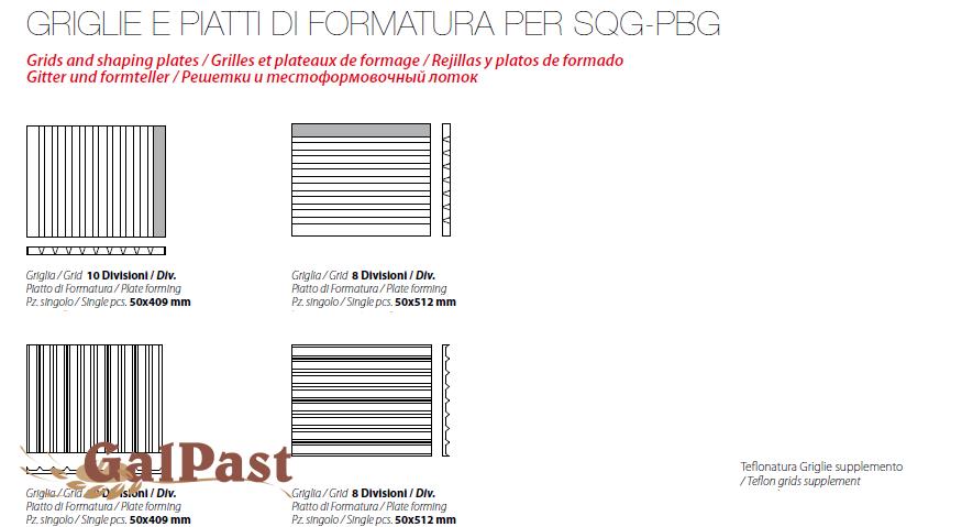 Гідравлічний ділитель тіста, напівавтоматичний, зі змінними рамними-ножами, 150-800 грам / 20шт. Vitella SQ G SA 20 (Італія) - 4