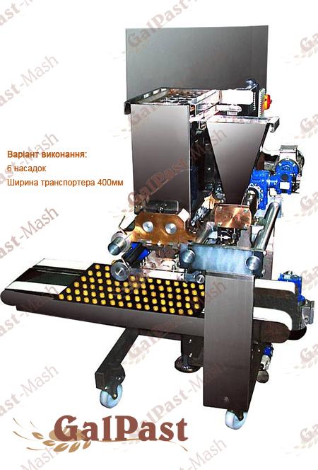 Відсадочна кондитерська машина для виробництва печива ВКМ55. Україна - 2