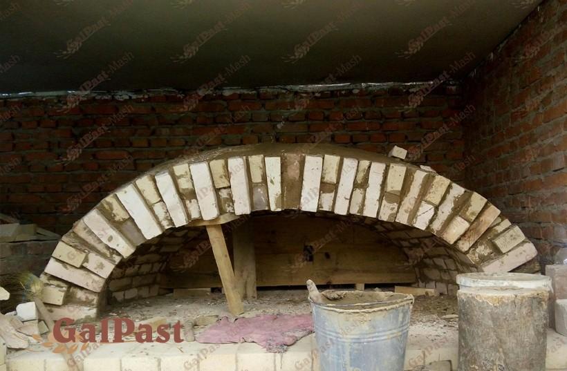 Піч хлібопекарна на дровах, класичного типу П'ЄЦ-ДС. Галпаст-Маш (Україна) - 2