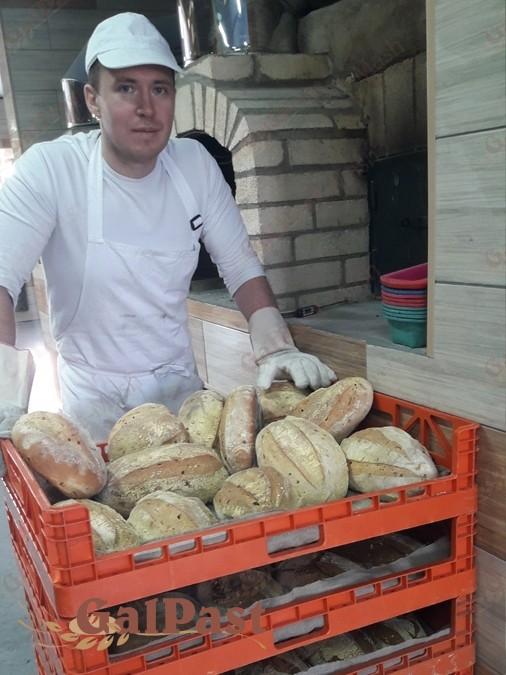 Піч хлібопекарна на дровах, класичного типу П'ЄЦ-ДС «Помпейський купол». Ручна робота - 3