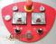 Тістомісильна машина 2 шв. з фіксованою діжею на 131л. / 80кг. тіста. LP Group VISR80. ЕМПУ. Посилений варіант - 3