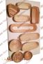 Круглі форми (корзинки) з лози для вистоювання тіста - 4